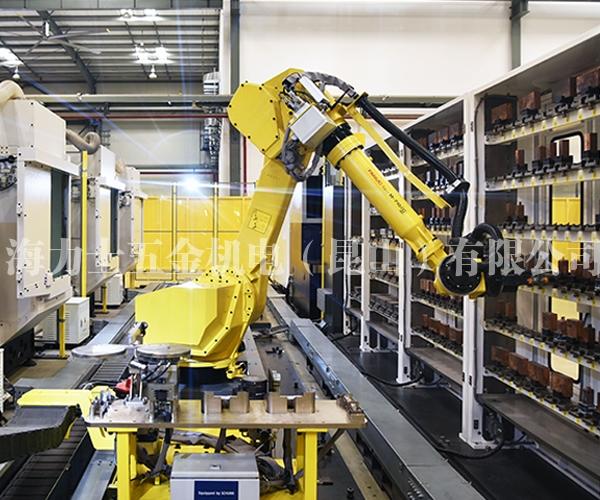 加工件机器人立体仓系统