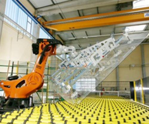 唐山汽车玻璃搬运作业系统连线
