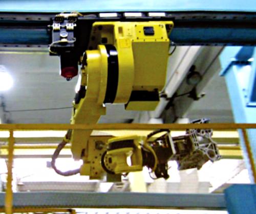 天吊桁架机器人